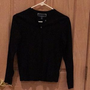 Black Karen Scott Cardigan
